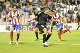 Enfrentamiento CD Lugo contra Racing de Santander