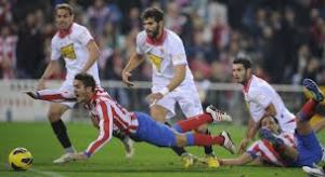 Partido Sevilla FC  contra At de Madrid