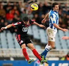 Partido RC Deportivo contra Real Sociedad