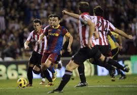 Partido Ath C de Bilbao contra FC Barcelona