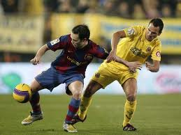 Partido FC Barcelona contra Villarreal CF