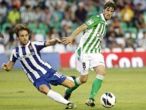 Partido Real Betis Balompie contra RCD Espanyol