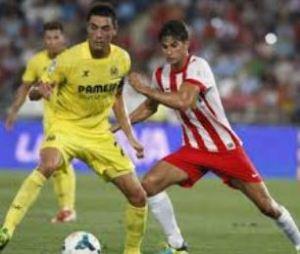 Partido Villarreal CF  contra UD Almería